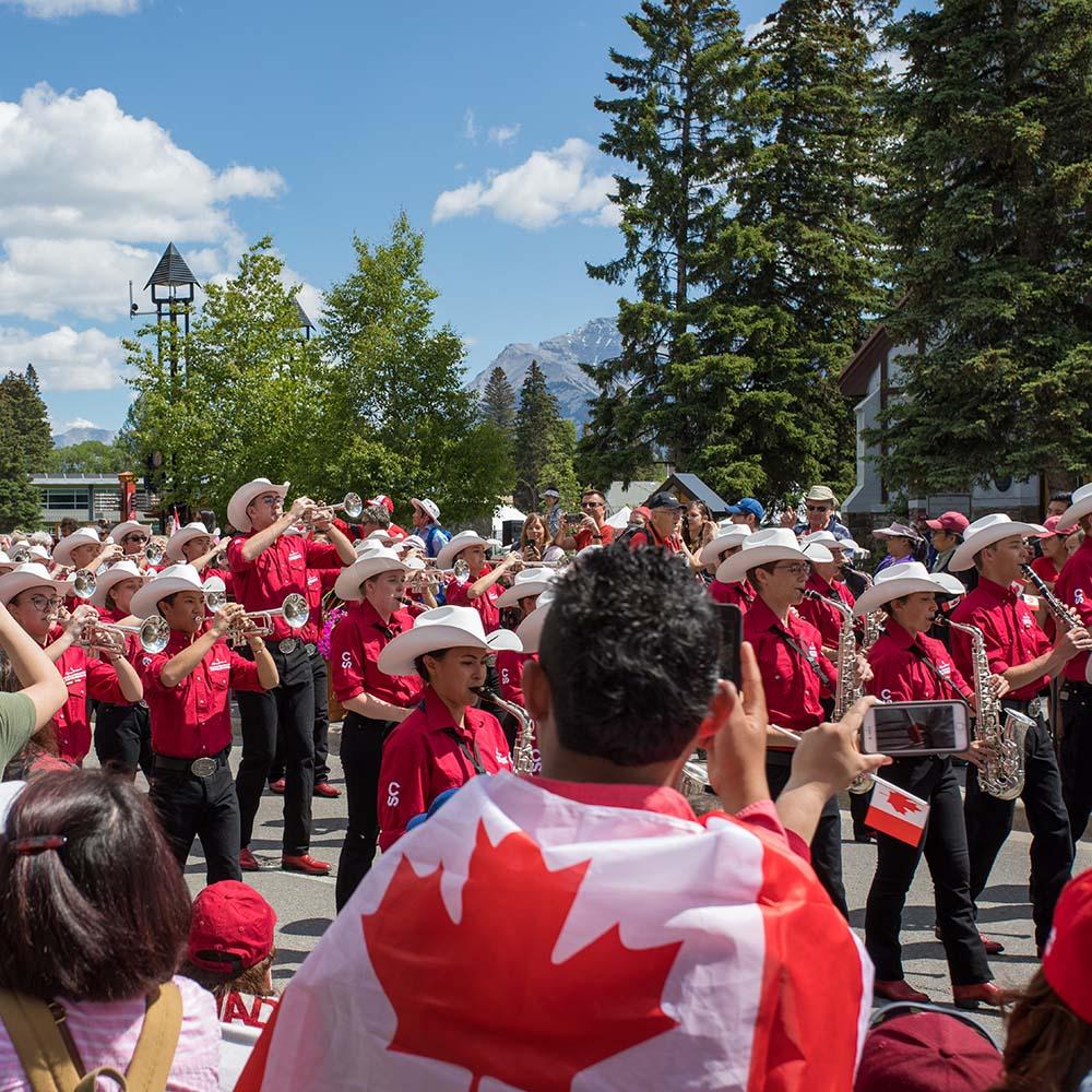 Canadian parade