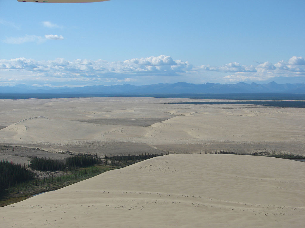 A Place to See Sand Dunes in Alaska
