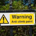 There Is Such a Thing as Anti-Climb Paint