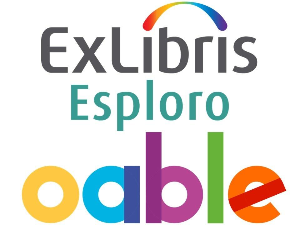 Ex Libris Esploro Oable Logos