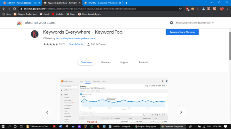 Top 20 Best Chrome Extension (2020) for Blogger Hindi