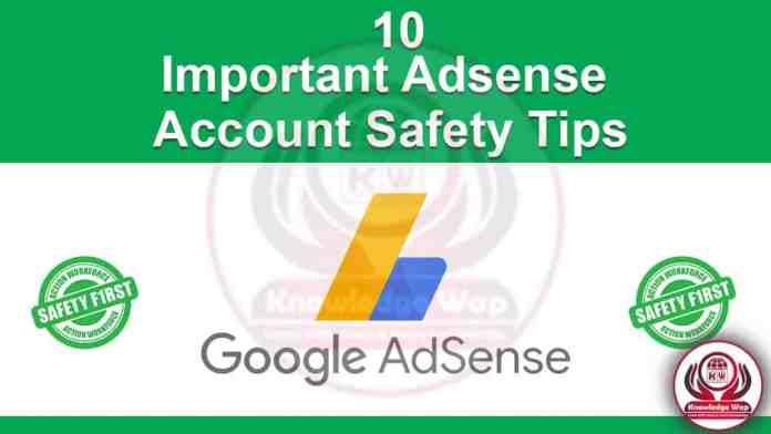 10 Important Adsense Account safety Tips (IN Hindi)