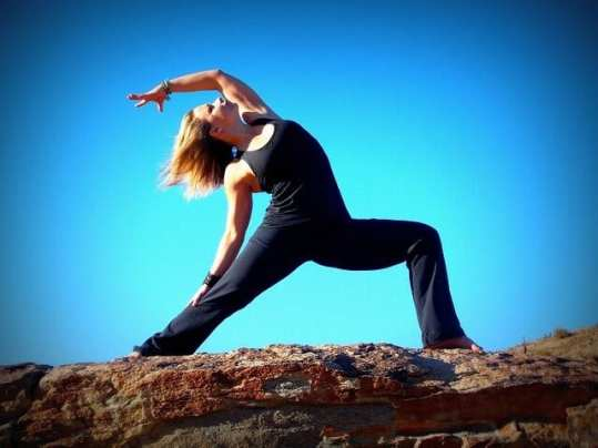 Yoga is  a great restless leg home remedy