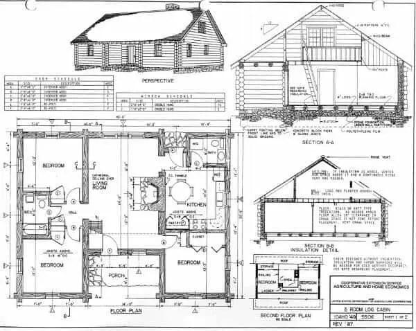 Log Home Plans 11 Totally Free Diy Cabin Floor. 4 Bedroom Log Cabin Floor Plans   Bedroom Style Ideas