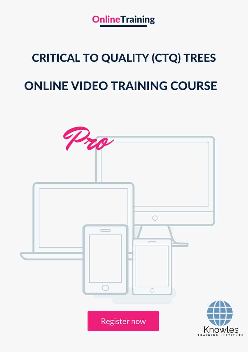 hight resolution of critical to quality ctq trees online video course
