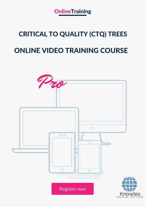 small resolution of critical to quality ctq trees online video course