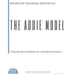the addie model course handouts [ 794 x 1123 Pixel ]