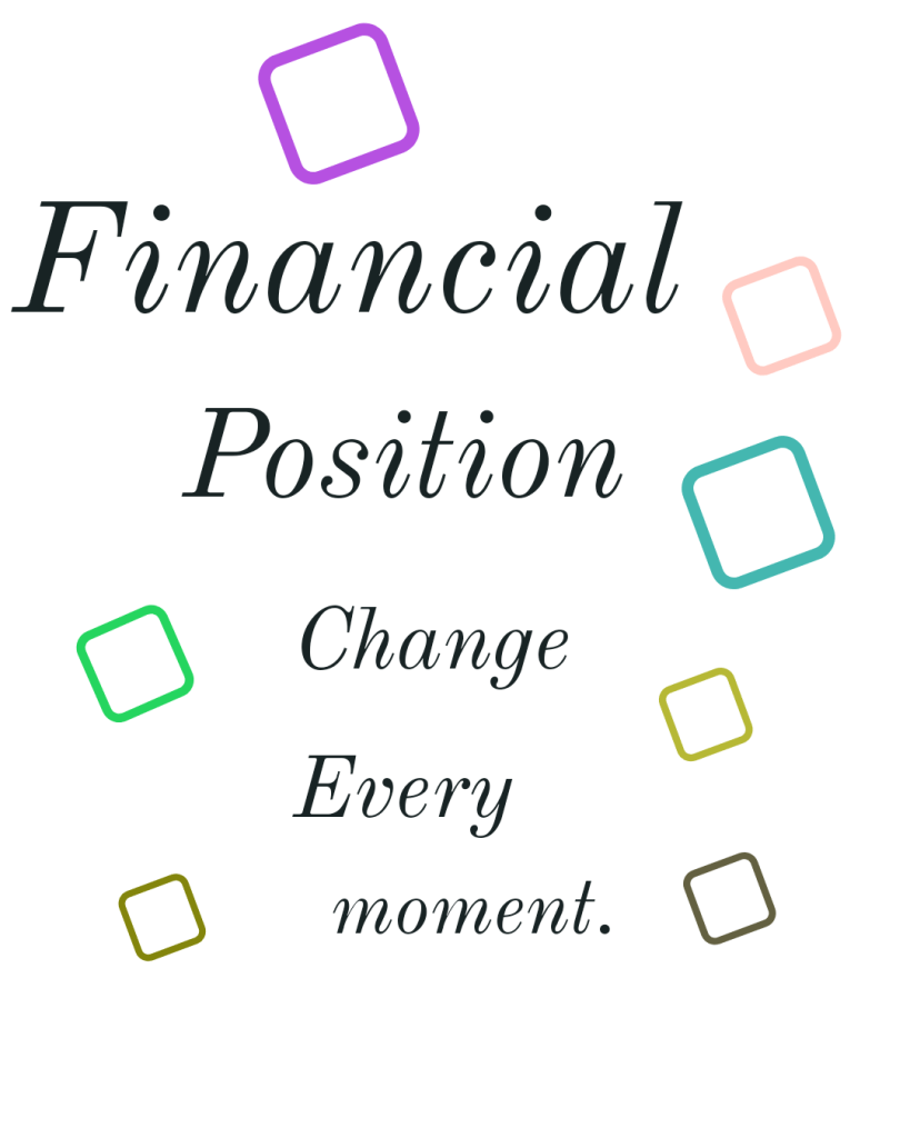 moment shows change in financial position