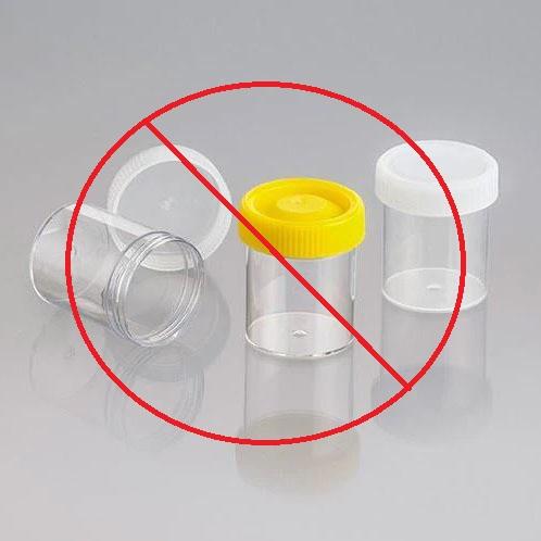Image, drug testing specimen jars