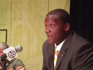Ja'Wuan James, SEC Media Days