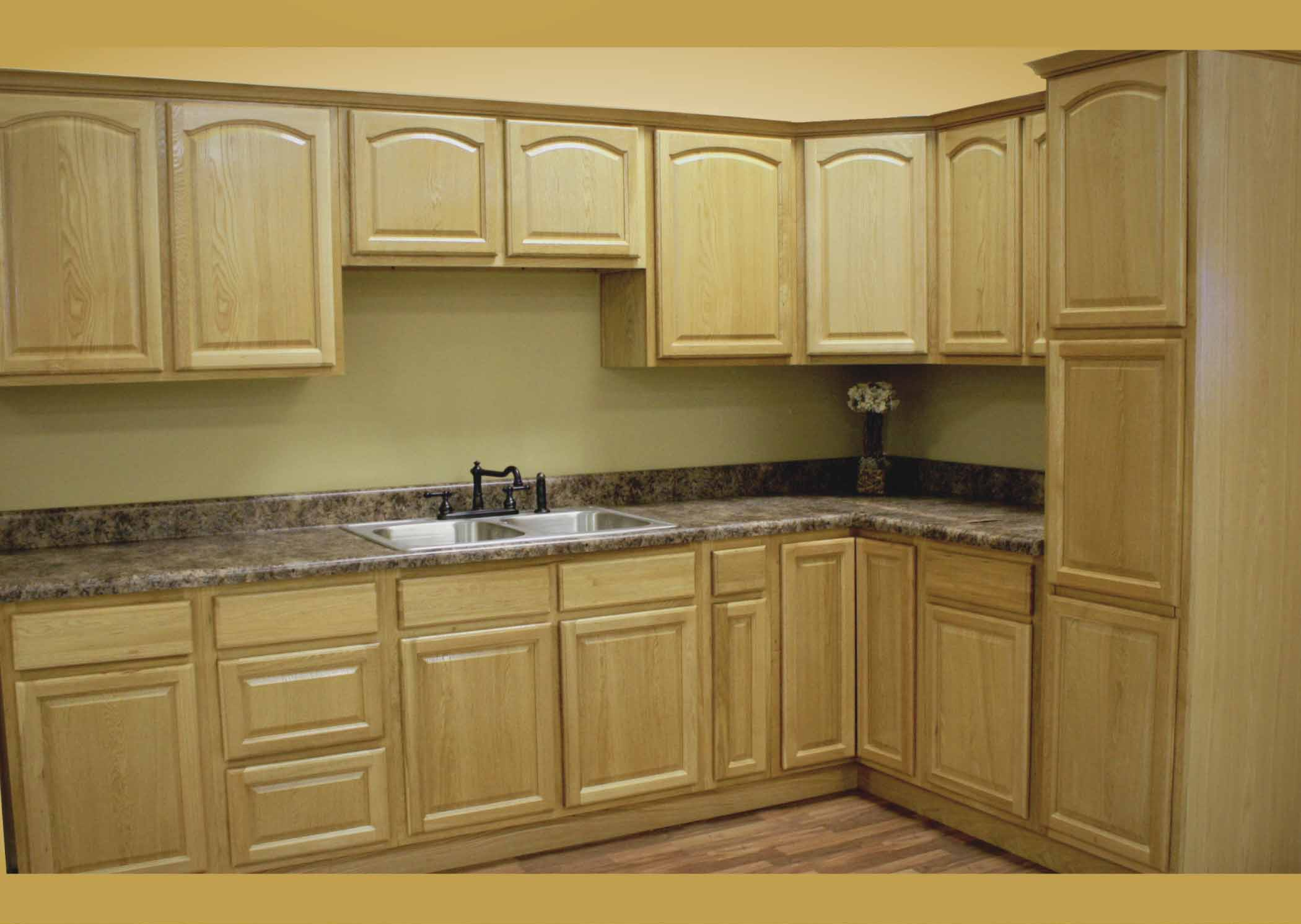unfinished oak kitchen cabinets designs ideas in stock  new home improvement products at