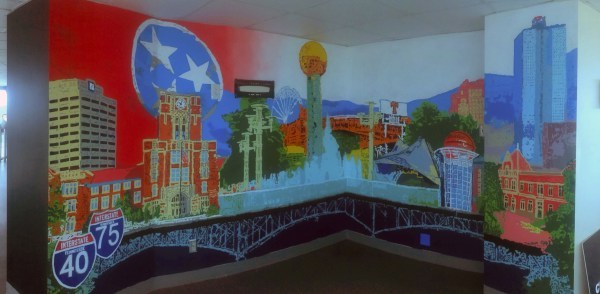 Students Bring Artistic Flair Renovated Sunsphere