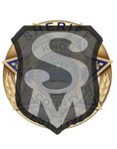 KCSO badge with Safetyman emblem overlay