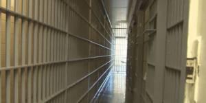 Jail bars walkway