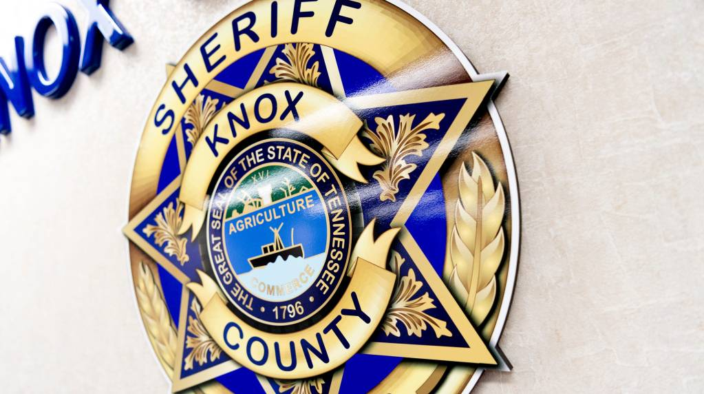 KCSO wall badge