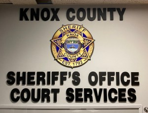 KCSO Court Services Wall logo