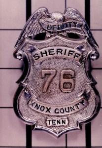 Older KCSO deputy badge