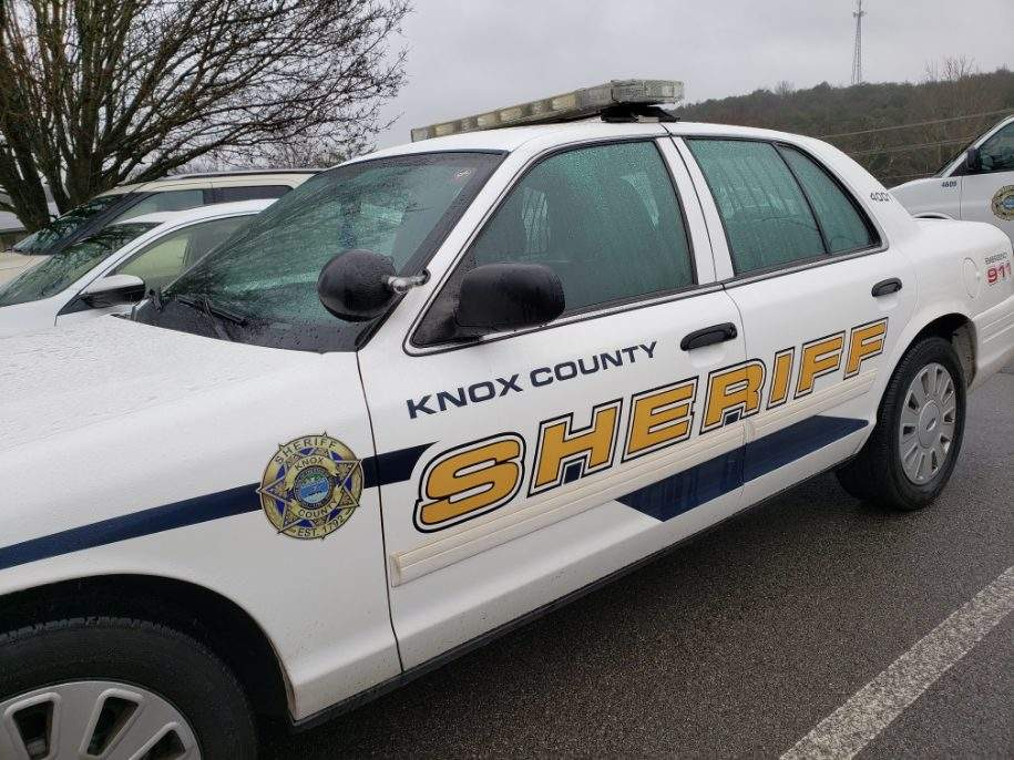 KCSO cruiser in parking spot