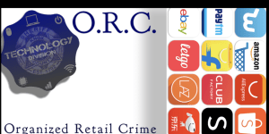 ORC Banner: Technology badge with various merchant icons to right