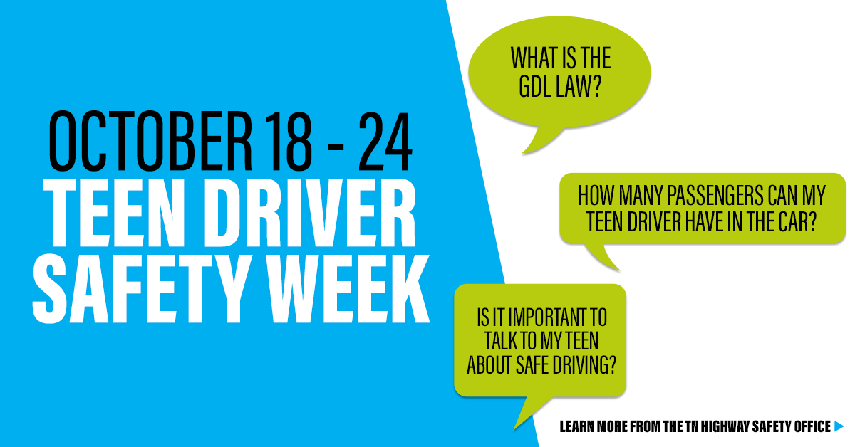 Teen Driver Safety Week Logo