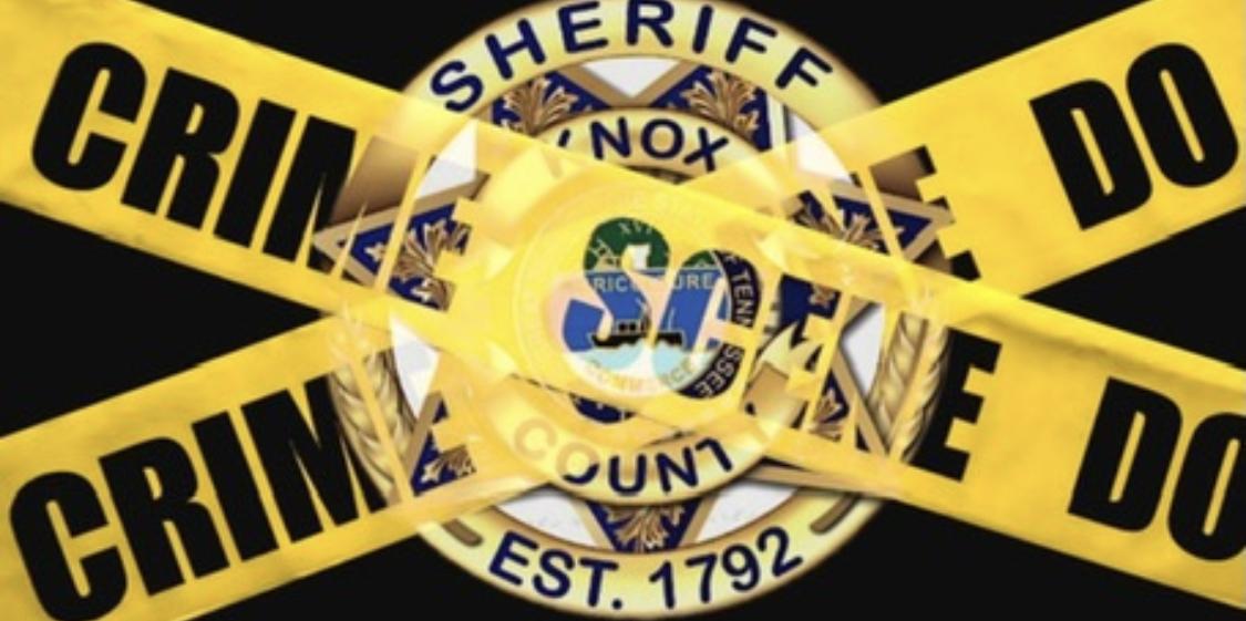 KCSO badge overlay with Crime Scene tape