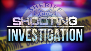 "Crime tape overlay with KCSO badge and ""Shooting Investigation"""