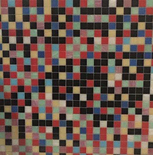 Bisazza Mural Pool Tile Deep Ellum