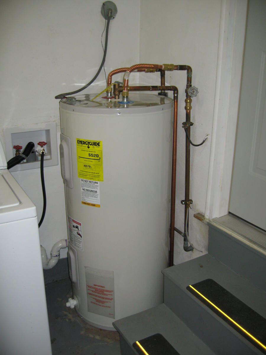 Electric Water Heater Wiring Schematic How To Wire Hot Water Heater