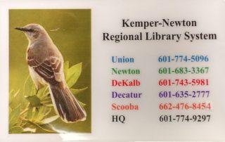 KNRLS Library Card
