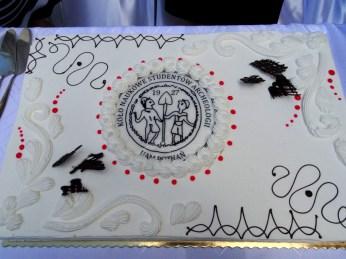 Przepiękny (i smaczny) tort jubileuszowy