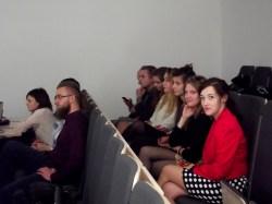 Od prawej: Dominika Wybult, Anna Haberland, Zuzzana Szelągowicz, Martyna Andrzejak, Zuzanna Kowalczyk, Marcin Kasprowicz, Filip Merski, rząd poniżej: Sebastian Teska