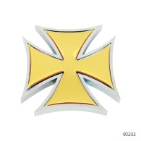 IRON CROSS ACCENTS WITH STICKER | 90232