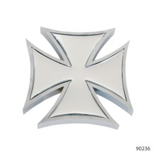 IRON CROSS ACCENTS WITH STICKER   90246