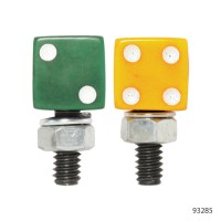 DICE SHAPED LICENSE PLATE BOLTS | 93283