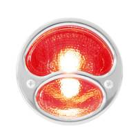 BLACK TAIL LAMP  WITH S.S. RIM | KA0039