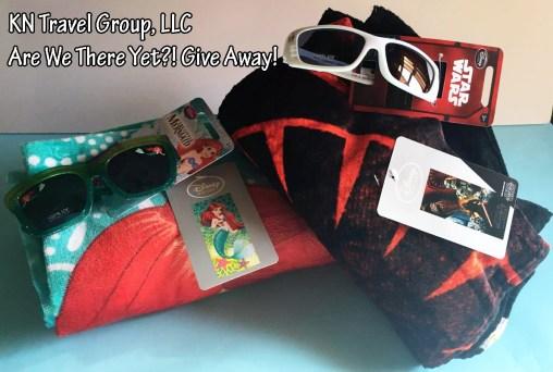 star wars little mermaid towels sunglasses