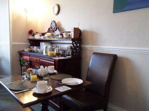 Der glorreiche Frühstücksraum
