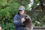 Sarah mit ihrem 10kg Wonneproppen