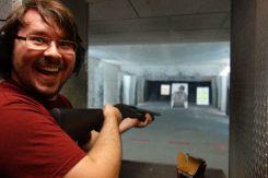 Oh ja Nazizombie Jagd mit einer wunderschönen Pump Action Shotgun