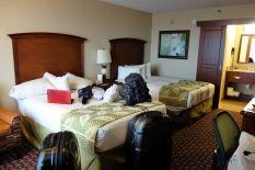 Schönes Zimmer, aber etwas kleine Betten