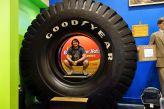 Tomus im größten Reifen der Welt