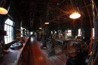 Das Labor von Thomas Edison für seine Suche nach einer Pflanze in den USA, die zur Gummiherstellung genutzt werden konnte