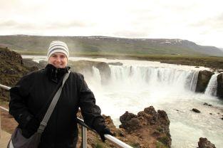 """Der Wasserfall heißt übersetzt """"Götterwasserfall"""""""