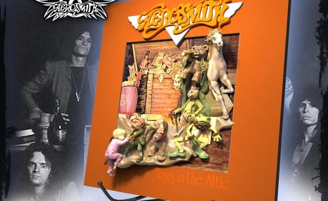 Aerosmith Toys In The Attic 3d Vinyl Knucklebonz Inc