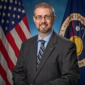 Ed Van Cise, Flight Director at NASA