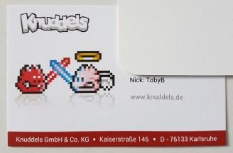 Die offizielle Visitenkarte von TobyB.