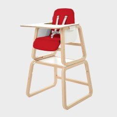 High Chairs Uk Lawn Chair Covers Home Depot Connect 4 In 1 Highchair Knuma Nursery Furniture Full Height Red