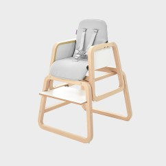 Best Easy Clean High Chair Press Back 4 In 1 Highchair Knuma Innovative Bedside Cribs