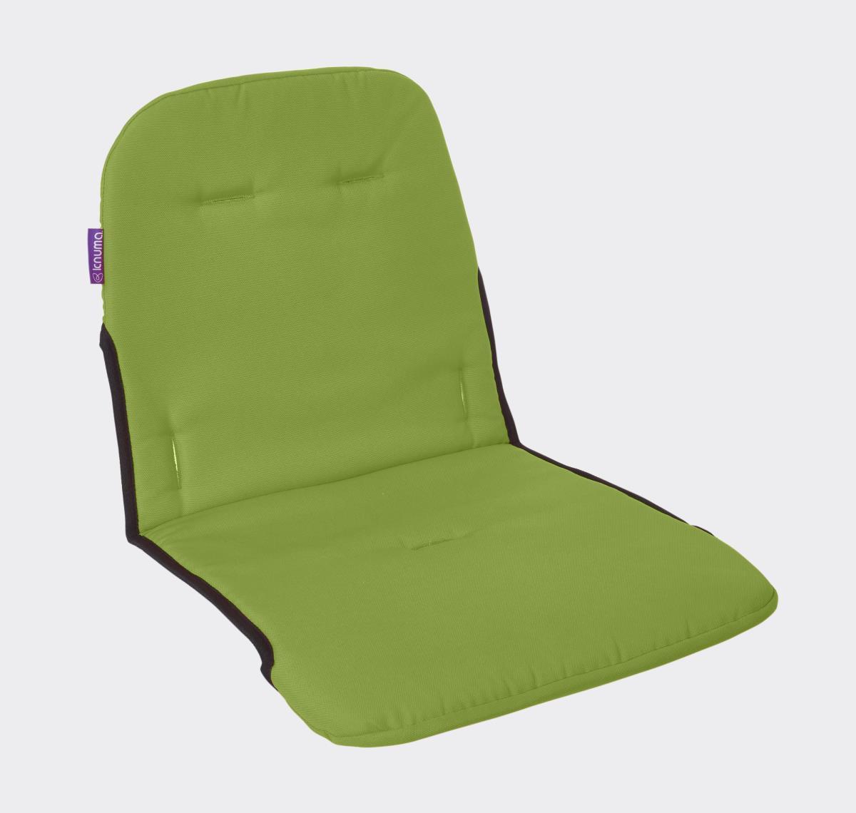 green high chair x rocker pro gaming highchair seat cushion lime knuma nursery furniture connect