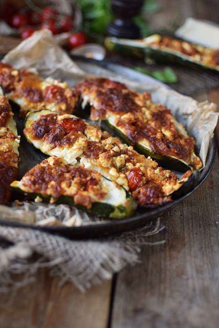 Gefuellte Zucchini _ Filled Courgette (4)